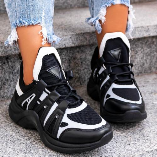 Melnbalti sporta apavi