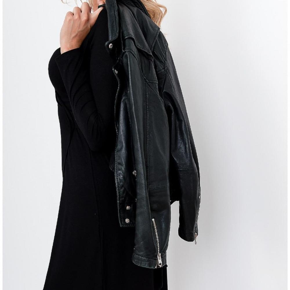 Pārliekama kleita - melna