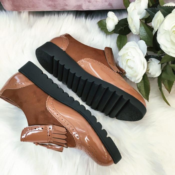 Brūnas kurpes