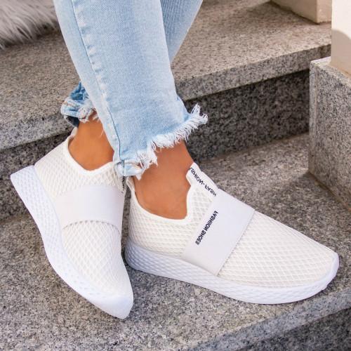 Balti tekstila sporta apavi