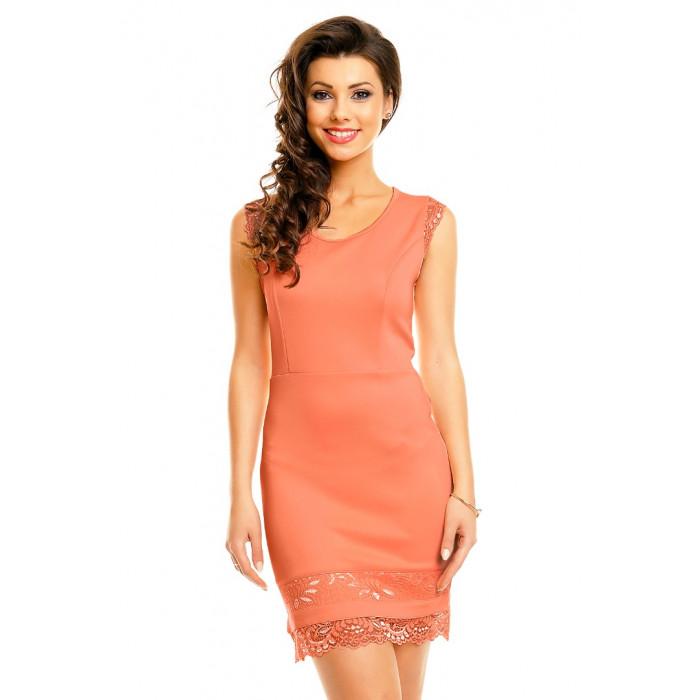 Laškrāsas kleita ar mežģīnēm