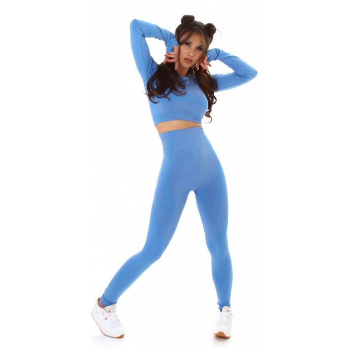 Fitnesa kostīms - zils