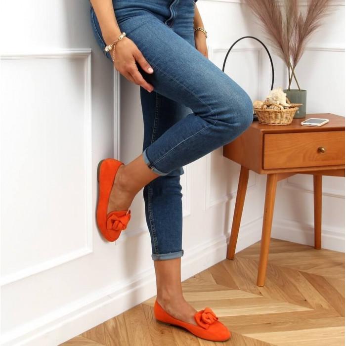 Oranžas balerīnas