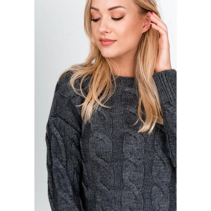 Pelēks džemperis (70% vilna)